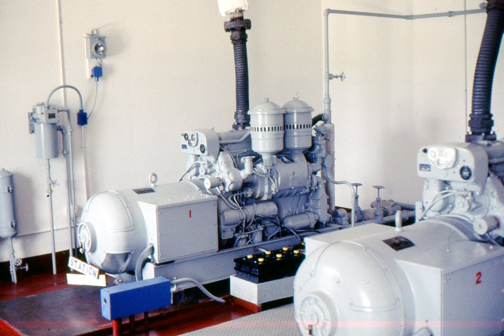 EMERGENCY, GENERATOR ROOM, ELECTRIC PLANTS